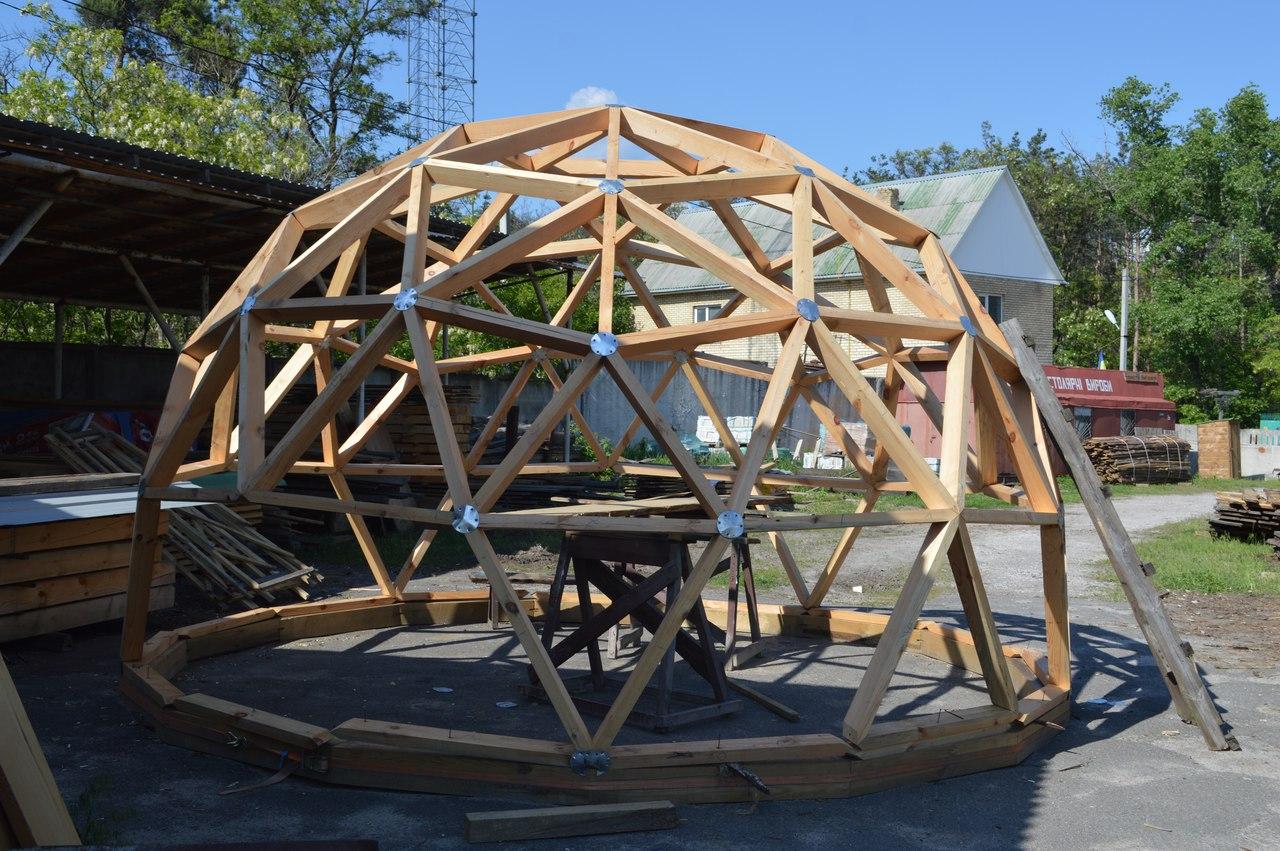 Строительство купольного дома своими руками 84